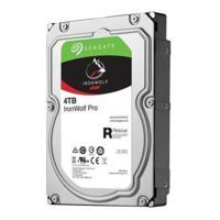 Hard Disk Drive Seagate IronWolf PRO 3.5'' HDD 4TB 7200RPM SATA 6Gb/s 128MB | ST4000NE0025