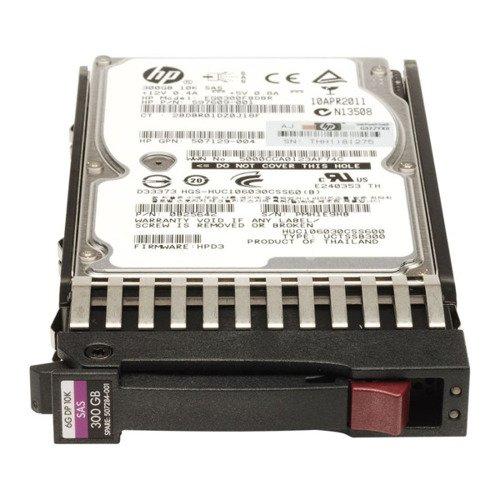 Hard Disc Drive dedicated for HP server 2.5'' capacity 300GB 10000RPM HDD SAS 6Gb/s 507284-001 | 507119-002  | 507127-B21