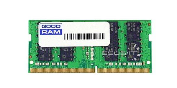 Memory RAM 1x 16GB GoodRAM SO-DIMM DDR4 2400MHz PC4-19200   W-MEM2400S416G