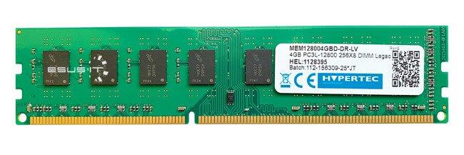 Memory RAM 1x 4GB HYPERTEC NON-ECC UNBUFFERED DDR3 1600MHz PC3-12800 UDIMM | MEM128004GBD-DR-LV