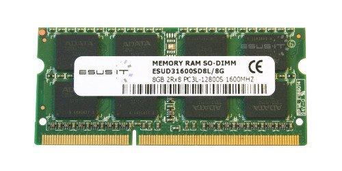 Memory RAM 1x 8GB ESUS IT SO-DIMM DDR3 1600MHz PC3-12800 | ESUD31600SD8L/8G