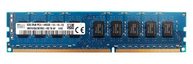 Memory RAM 1x 8GB Hynix ECC UNBUFFERED DDR3  1866MHz PC3-14900 UDIMM | HMT41GU7BFR8C-RD