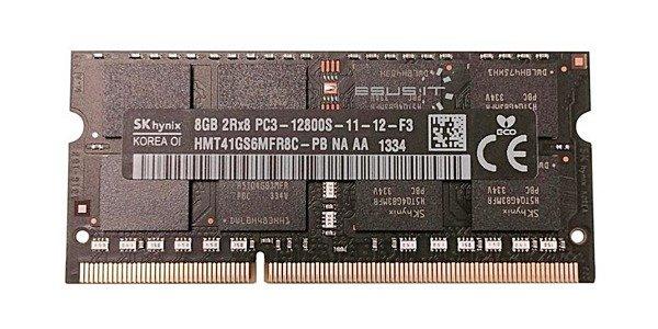 Memory RAM 1x 8GB Hynix SO-DIMM DDR3 1600MHz PC3-12800   HMT41GS6MFR8C-PB